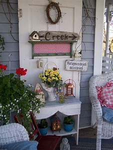 40, Best, Vintage, Porch, Decor, Ideas, And, Designs, For, 2021