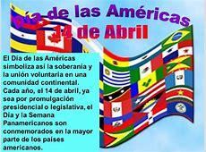 Imágenes del Día de las Américas Información, Banderas