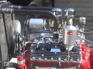 59ab Flathead Ford Engine Running