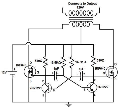 How Build Power Inverter Circuit