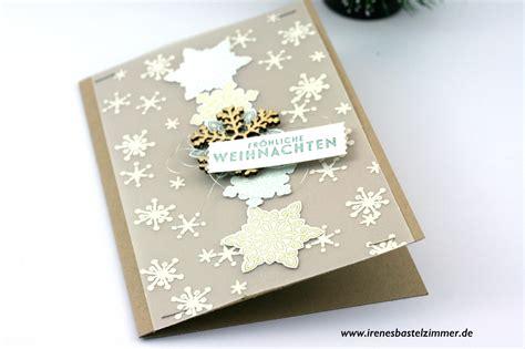 weihnachtskarten basteln jeden tag eine neue idee