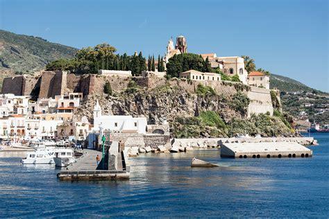Visit Lipari Island On A Crewed Charter Yacht Northrop
