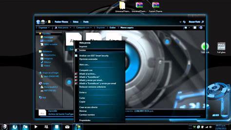 Descargar Tema Fusion Glass Para Windows 7(mas Parche Para