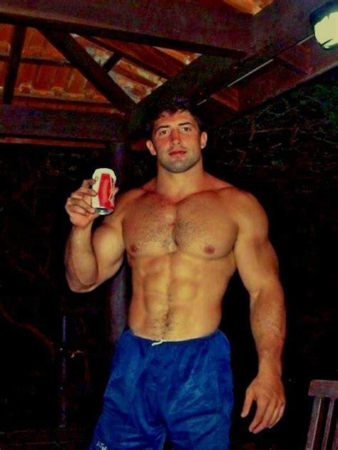 shirtless muscular beefcake beefy dude 4x6 d580 ebay