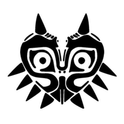 legend  zelda majoras mask stencil  stencil