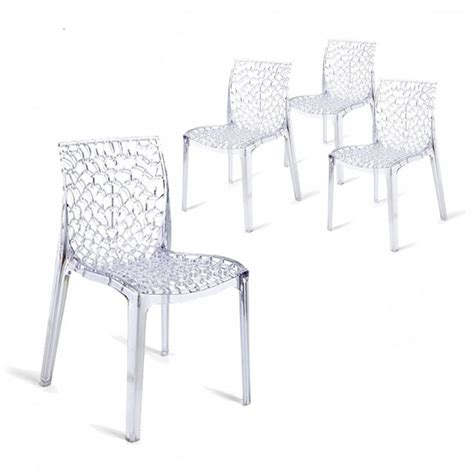 chaises transparentes but 25 best ideas about chaise polycarbonate on