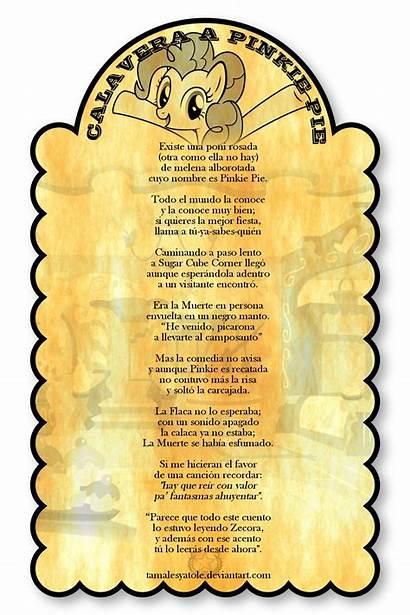 Calavera Pinkie Pie Calaveras Literaria Poems Catrina