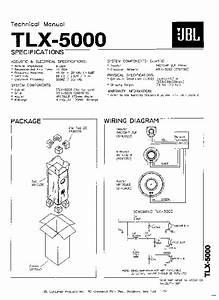 Jbl Tlx 5000 Service Manual