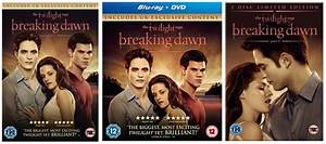 Uk Breaking Dawn Dvd And Blu Ray Covers Revealed