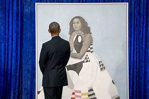 Here are Barack and Michelle Obama's official portraits ...