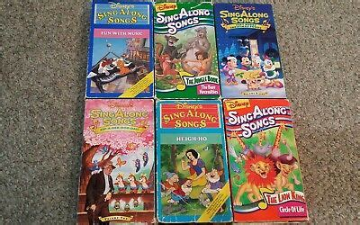 walt disney black diamond classic the jungle book sing along songs vhs tapes 8 00 picclick