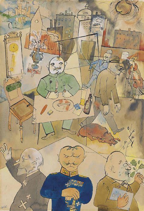 George Grosz (1893-1959) , Deutschland, ein Wintermärchen ...