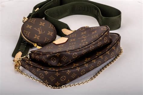 box louis vuitton multi green crossbody pouch bag  sale  stdibs