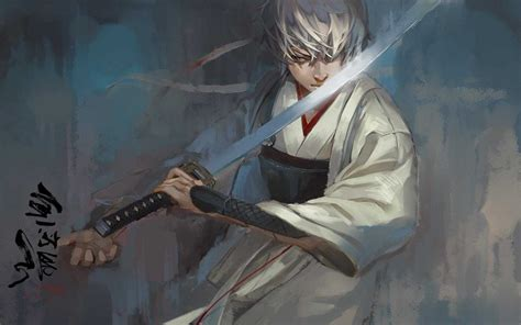gintama sakata gintoki wallpapers hd desktop  mobile