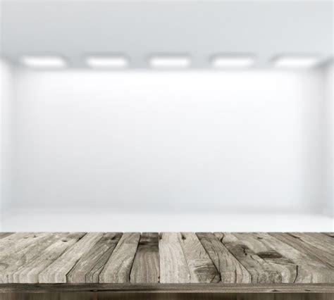 chambre en perspective 3d rendent d 39 une table en bois avec defocussed salle
