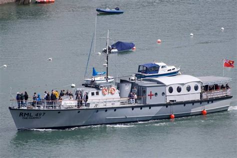 Party Boat Hire Torbay by Fairmile B Returns To Service 171 Greenway Ferry Pleasure