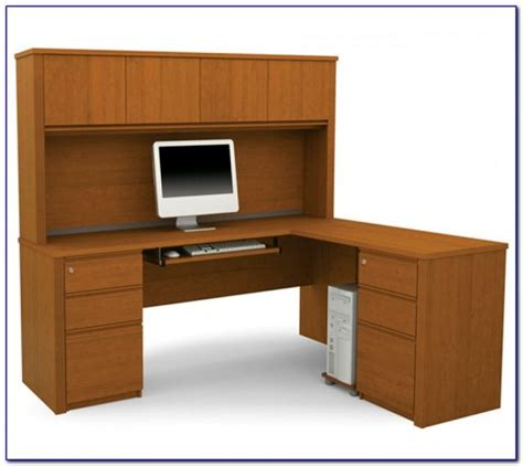 office max desk with hutch u shaped office desk with hutch desk home design ideas