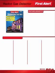 First Alert Carbon Monoxide Alarm Rd1 User Guide