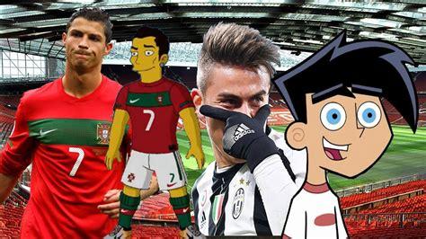 Top 17 Football Players Who Look Like Cartoon Characters