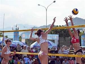 Asian women's beach volleyball tournament kicks off in Ha ...