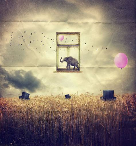 examples  surreal art  graphic design