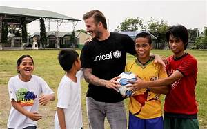 David Beckham furious at claims he does charity work 'to ...