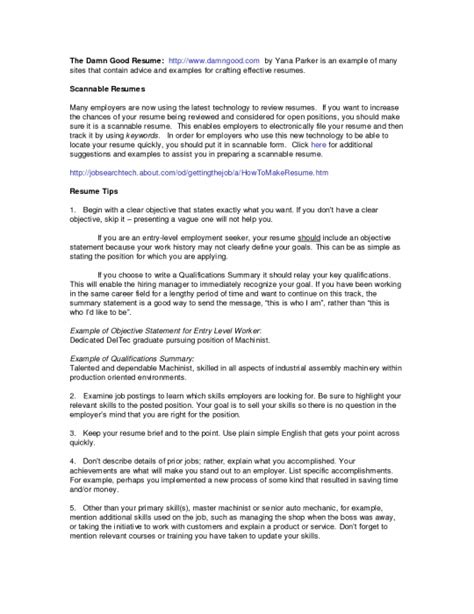 the awesome qualifications summary resume exle resume