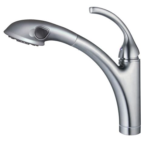 brushed nickel single handle kitchen faucet glacier bay keelia single handle pull out sprayer kitchen