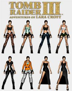 Tomb Raider 3 - Lara's outfits by HailSatana on DeviantArt
