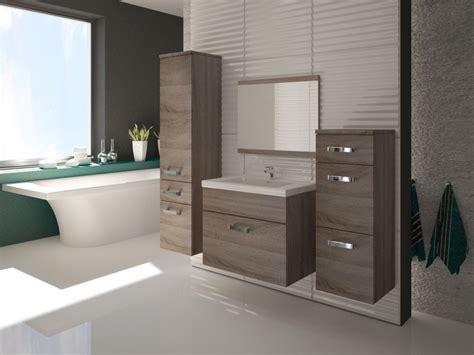 Badmöbel Set Badezimmer 5tlg. Sonoma Eiche Trüffel