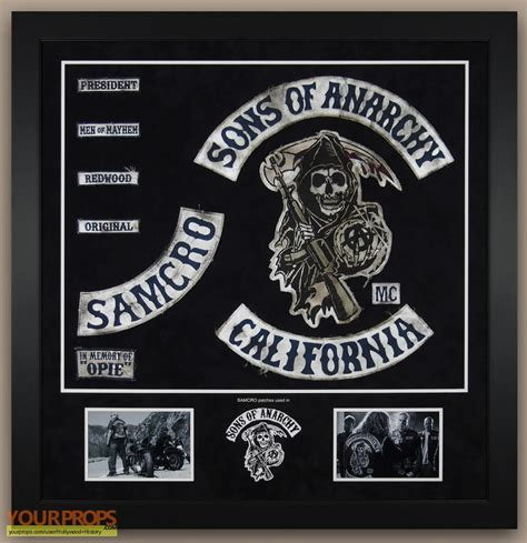 sons of anarchy patches sons of anarchy samcro patches original tv series costume