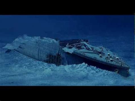 titanic sinking animation pitch black related