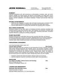 transition resume exles free career transition resume exle