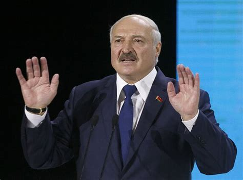 Alexander grigoryevich lukashenko or alyaksandr ryhoravich lukashenka (born 31 august 1954) is a belarusian politician who has served as the first and only president of belarus since the establishment. Lukashenko vows to stop human chain 'from Vilnius to Kyiv' - LRT