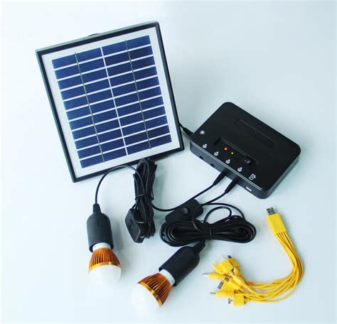 solar power kits portable solar energy led lights solar