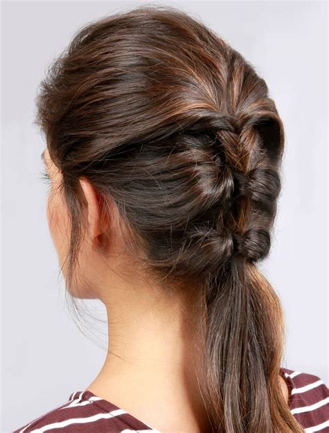 Cool Easy Ponytail Hairstyles by Lulus How To Topsy Ponytail Hair Tutorial Hair
