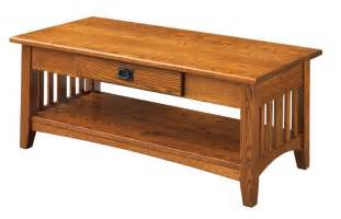 mission solid oak coffee table build a closet organizer diy woodworking crafts