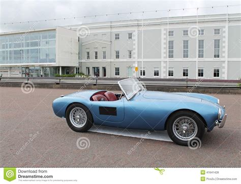 Classic Blue Sports Car