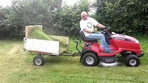 Bac De Ramassage Tracteur Tondeuse : ramassage de l 39 herbe avec une autoport e un truc simple et efficace youtube ~ Nature-et-papiers.com Idées de Décoration