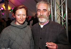 Tilda Swinton walks arm-in-arm with boyfriend Sandro Kopp ...