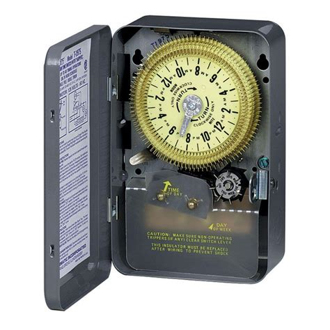 Intermatic Series Amp Hour Mechanical Time