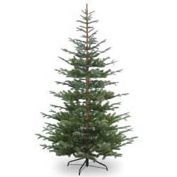 6ft nobleman spruce feel real artificial tree garden world