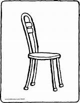 Chair Colouring Kiddicolour Drawing Pages sketch template