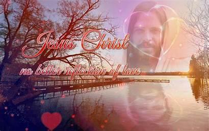 Jesus Christian Backgrounds Christ Reflection Bible God