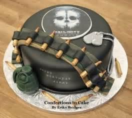 Call of Duty Theme Birthday Cake