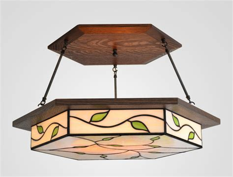 craftsman lighting craftsman ceiling lighting san