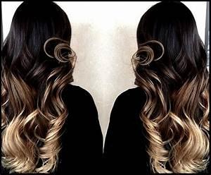 Ombré Hair Blond Foncé : eva extensions clips naturels xxl rajout haute qualit ~ Nature-et-papiers.com Idées de Décoration