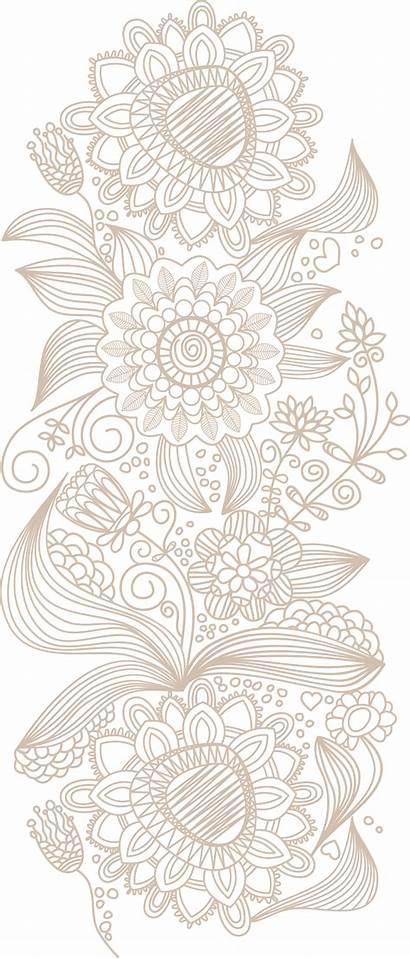 Pattern Lace Euclidean Flower Ui Ex Wallpapers