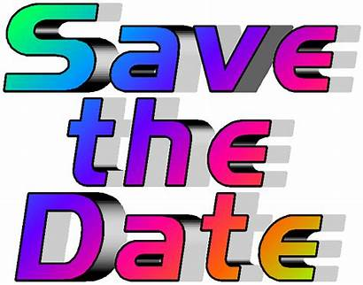 Date Save Clipart Calendar Meeting Clip March