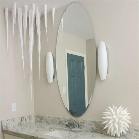 paper icicles  frozen ceiling decoration